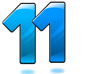 number-11-300px