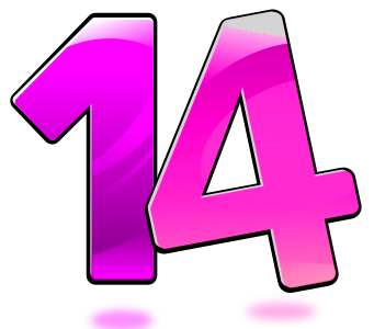 number-14-300px