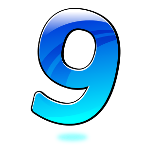 number-9-300px